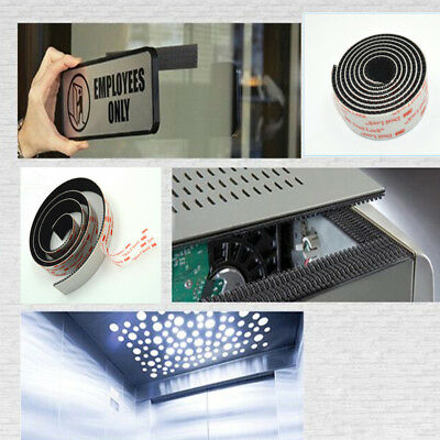25.4mmx1m 3M SJ3550 Dual Lock Adhesive Tape Mushroom Fastener Reclosable Tape F9