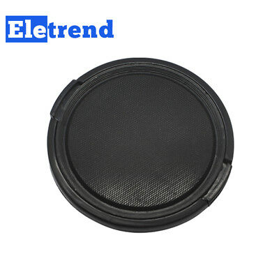 55mm Center Pinch Snap-on Camera Lens Front Cap Cover for all Lens Filter