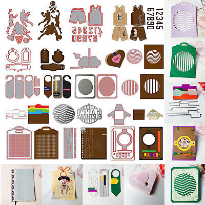 New Metal Cutting Dies Stencil Scrapbook Paper Card Craft Embossing DIY Decor
