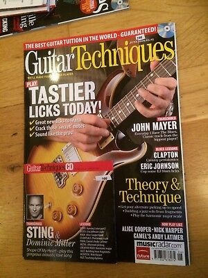 Guitar Techniques magazine & CD: June 2009