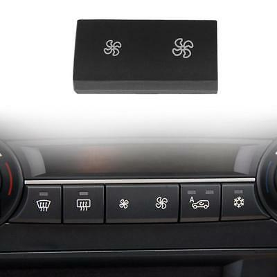 A/C Air Conditioning Control Panel Fan Speed Button Cover for BMW X5 E70 X6 E71