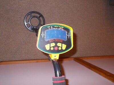 MD-3010II metal detector used once free post