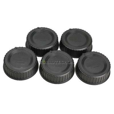 Black 5Pcs Rear Lens Cap Cover For All Nikon AF/AF-S/SLR/DSLR Camera LF-4 Lens