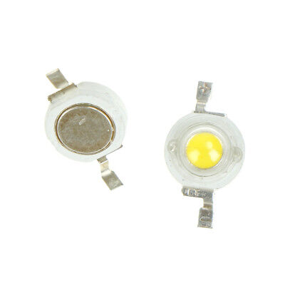 10pcs/set 1W Watt Full Spectrum LED Chips 2900-3100K 4000-4500K 6000-6500K 350mA