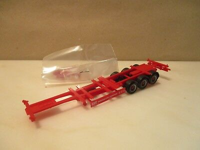 HERPA  --- Container Chassis --- Passion for Logistics ---  neu