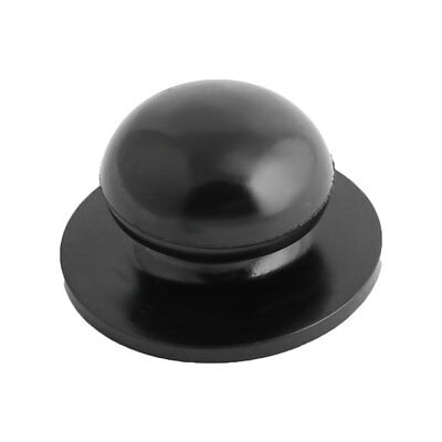 Household Kitchen Cookware Plastic Round Shaped Cooking Tool Pot Lid Knob Black
