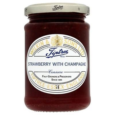 Tiptree Strawberry Conserve with Champagne 340g (Pack of 2)