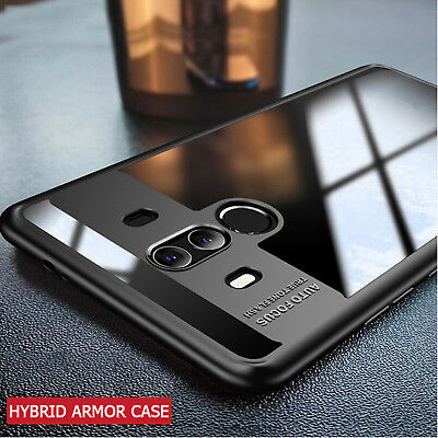 Luxury AutoFocus TPU Silicone Ultra-Slim Hard Clear Case Cover For Huawei Models