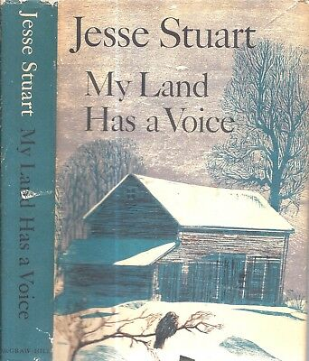 Rare 1966 Signed First Edition Jesse Stuart Kentucky Appalachian Author My Land