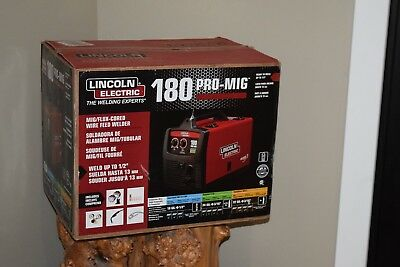 Lincoln Electric 180 Pro-Mig Mig/flux Cored Wire Feed Welder, K2481-1