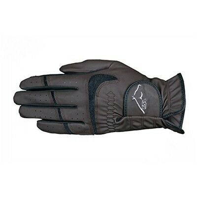 Rsl Rom Riding Gloves Xsmall Brown/black - Brownblack Usg Rider Wear x Size XS