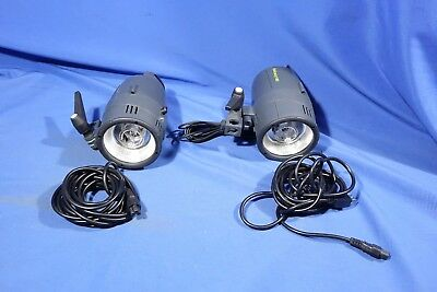 LOT of Delicacy 180 Studio Strobe Lights #L4268BP AS-IS