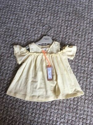 Baby Girl River Island Top 6/9 Months NEW