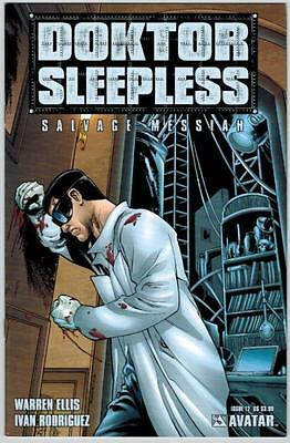 Doktor Sleepless 12 Avatar Comic 2009 Warren Ellis Ivan Rodriguez