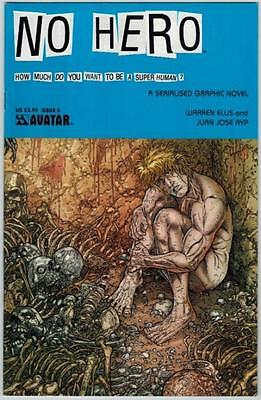 No Hero 5 Avatar Comic 2009 Warren Ellis Juan Jose