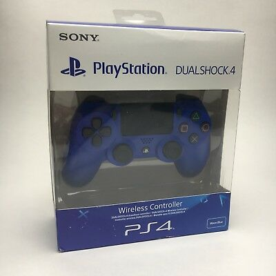 Sony Playstation 4 PS4 - DualShock 4 Controller Game Pad - Wave Blue V2 - New
