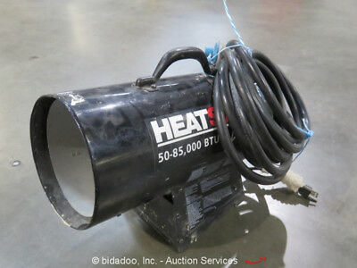 2014 Heatstar HS85FAV Forced Air Propane Heater 85,000 BTU 115V LPG bidadoo