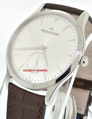 Jaeger LeCoultre JLC Master Grande Ultra Thin Steel Automatic Watch Q1358420 !