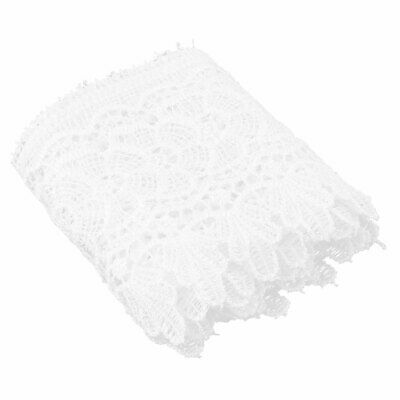 Polyester Clothes Edge Handmade Decor Lace Trim Sewing Craft 4.9 Inch Width