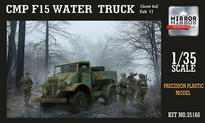 MIRROR MODELS 35166 CMP F15 Ford Water Truck Cab 11 (15cwt 4x2) in 1:35