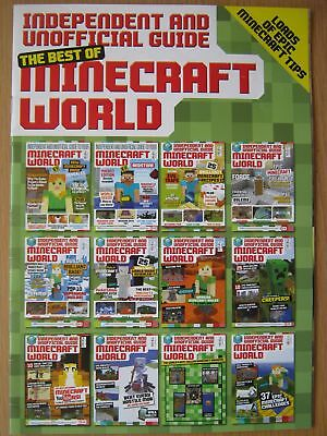 The Best of Minecraft World magazine with epic Minecraft tips