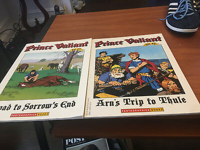 Prince Valiant  Hal Foster Book Lot 49 Sorrow's End 42 Arn's Trip To Thule