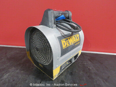 2014 Dewalt DXH165 1.65 kW Forced Air Electric Construction Heater bidadoo