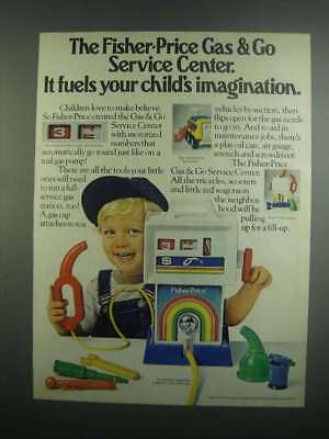 1984 Fisher-Price Gas & Go Service Center Ad - It Fuels