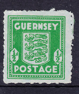 GUERNSEY SG 4 1/2d Blue Green  on Blued Paper MUH
