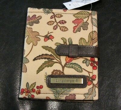 Longaberger Purse Accessory AUTUMN PATH  Photo Book  NWT