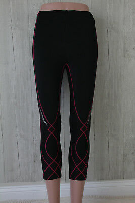 CW-X CWX Womens Compression Leggings Tights Size Small Black