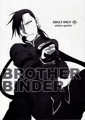 Fullmetal Alchemist Full Metal YAOI Doujinshi Comic Pride x Greed Ling Brother B
