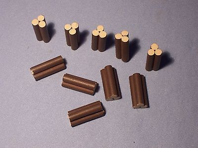 HO or N Gauge * Set of 10 * Log Piles * NEW * Freight or Cargo