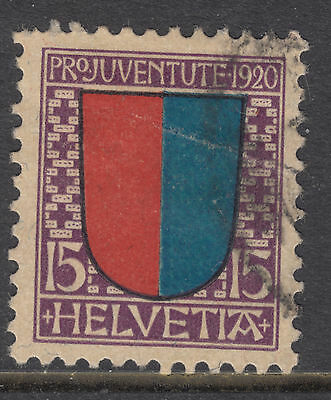 SWITZERLAND 1920 15c Childrens Fund FINE USED