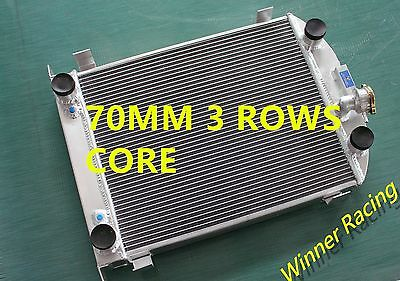 up to 1000HP radiator fits Ford truck w/flathead V8 engine 1932 70mm