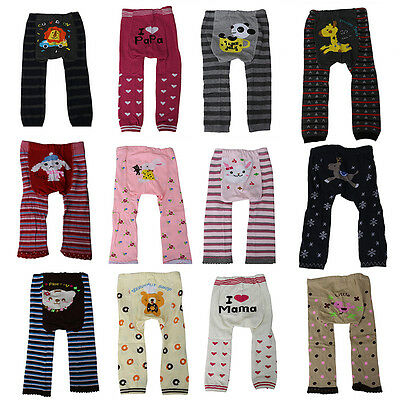Baby Knitted Pants Kid Toddler Unisex Boy Girl Tights Warm Leggings Trousers