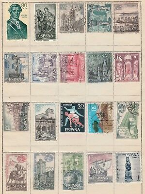 SPAIN COLLECTION 1963 Navidad Sports, Viking etc USED removed to send #