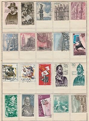 SPAIN COLLECTION Bulls Compostelano Buildings etc USED removed to send #