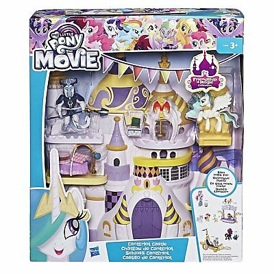 #02 MY LITTLE PONY-Schloss Canterlot C0686-Movie Spielset/Playset Hasbro