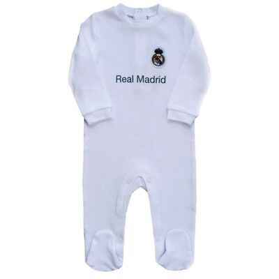 Real Madrid Sleepsuit - 0/3 Months - Fc Baby Kit Size Official