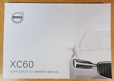 volvo xc60 owners manual uk