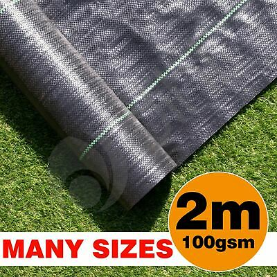 Dihl 2m Ground Cover Fabric Landscape Garden Weed Control Membrane Heavy Duty