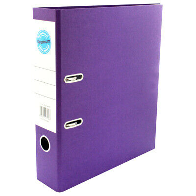 A4 Purple Lever Arch File, Stationery, Brand New