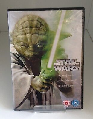 Star Wars The Prequel Trilogy DVD 2013  - New and Sealed Fast and Free Delivery
