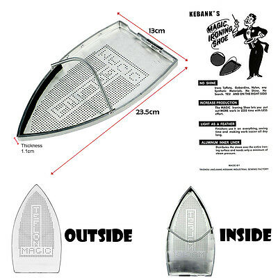 Iron Cover Teflon Shoe Ironing Aid Board for Fabrics Protection Cloth Heat UK
