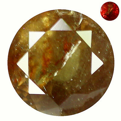 0.92Ct Grand look Round Cut 6 x 6 mm 100% Natural AAA Color Change Garnet
