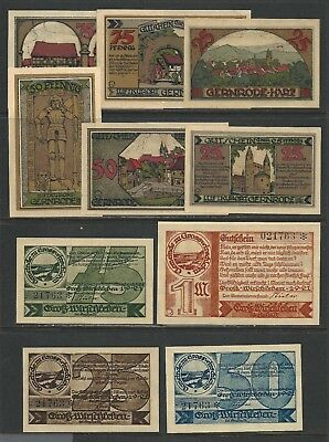GERMANY - Lot of 25 All Different NOTGELD Banknotes (1920-22) AU-UNC. [LOT 503]