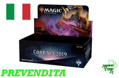 BOX 36 Buste Magic 2019 M19 Nuovo Italiano Sigillato Mtg Booster M19