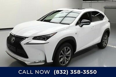 Lexus NX F SPORT 4dr Crossover Texas Direct Auto 2016 F SPORT 4dr Crossover Used Turbo 2L I4 16V Automatic FWD