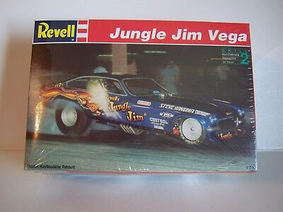 "Revell 1970's Jungle Jim Chevy Vega "" Funny Car "" Model Car Kit in 1/25th scale"